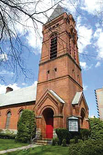 Bowne Street Church designated by LPC 1