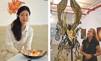 Works of all kinds shine in LIC Arts Open shows 1