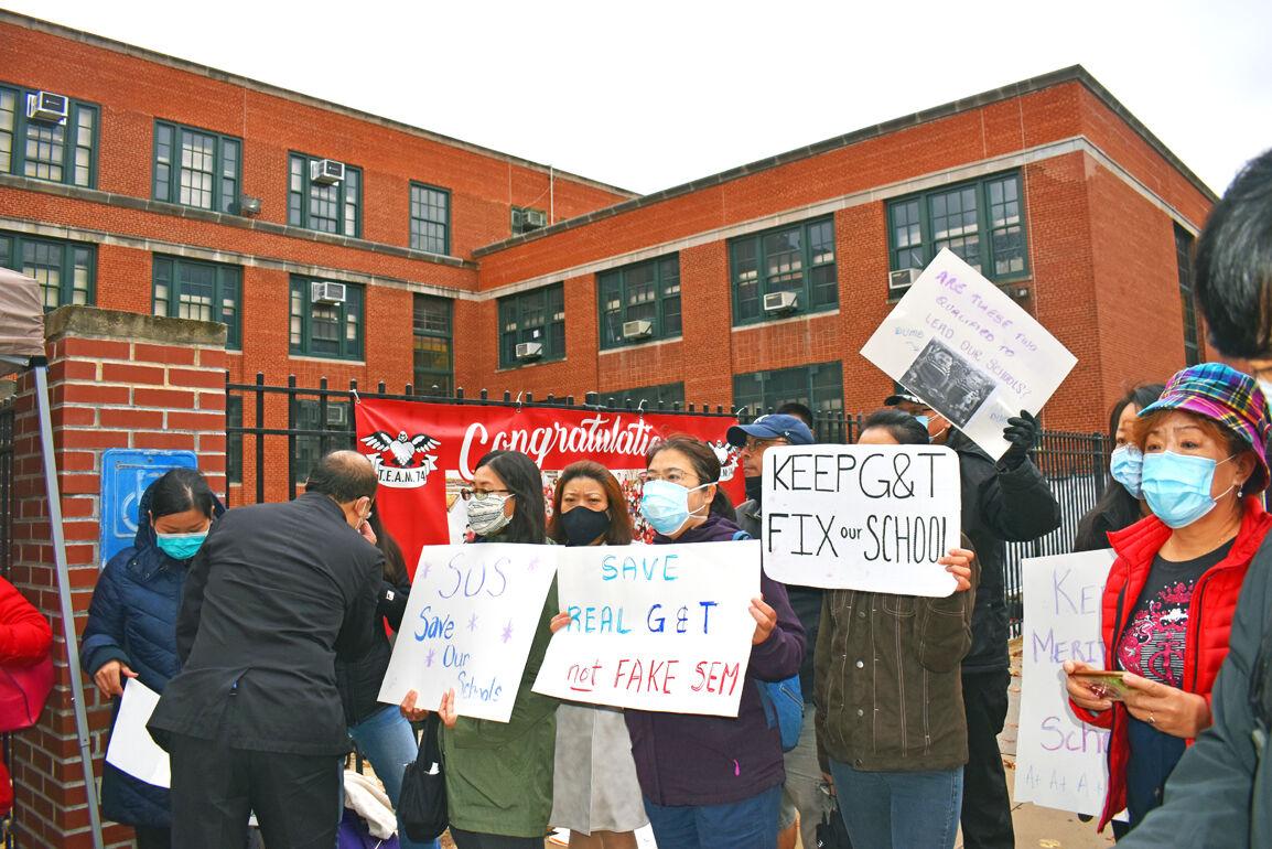 Parents protest delays on SHSAT, G&T tests 2