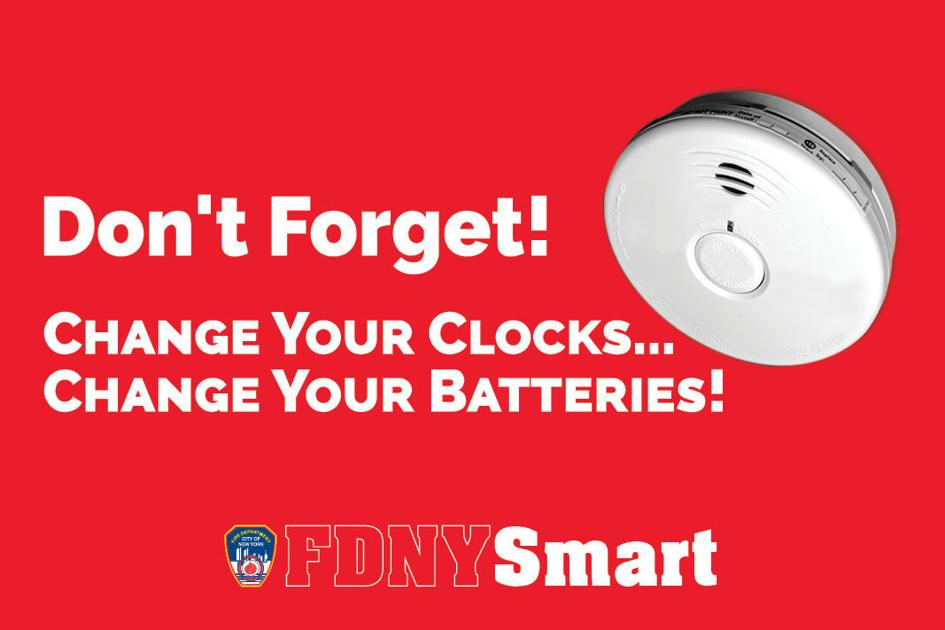 Change Smoke Co Detector Batteries Fdny Central Mid Western