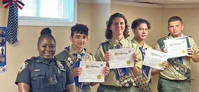 Four HB Scouts earn eagle status 1
