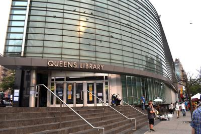 Flushing Library closed for 'many months' 1