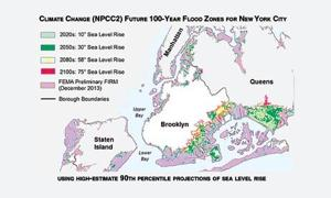 Climate change could put city underwater 1