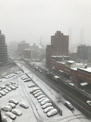 Snow causes issues in borough and city