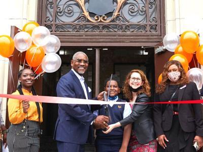 Success cuts ribbon on Ozone Park school 1