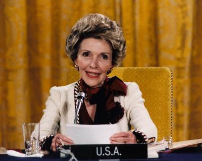 Former First Lady Nancy Reagan, a Flushing native, dies at 94