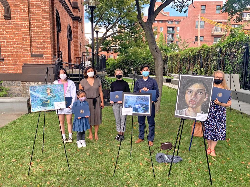Bayside artist's work to hang in U.S. Capitol 1