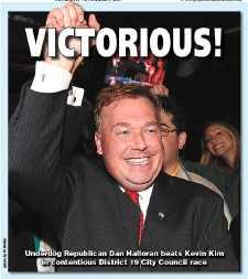 Halloran beats Kim in council race