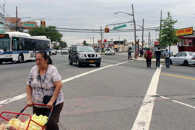 Intersection redesign turns controversial 1