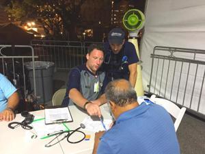 Queens medics make hurricane house call - Queens Chronicle