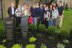 Holy Cross High School unveils 9/11 memorial 2