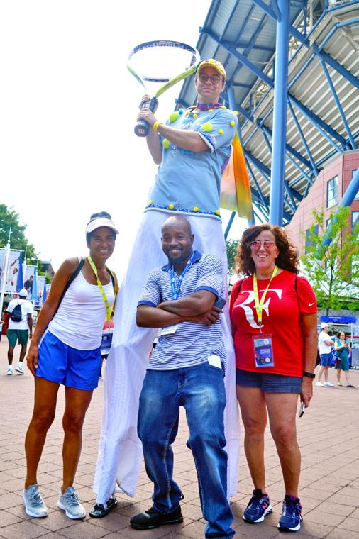 Hometown welcome at the US Open 4
