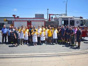 NYFAC thanks firefighters 1