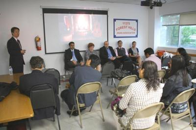 Panel talk on engaging Asian-American voters 1