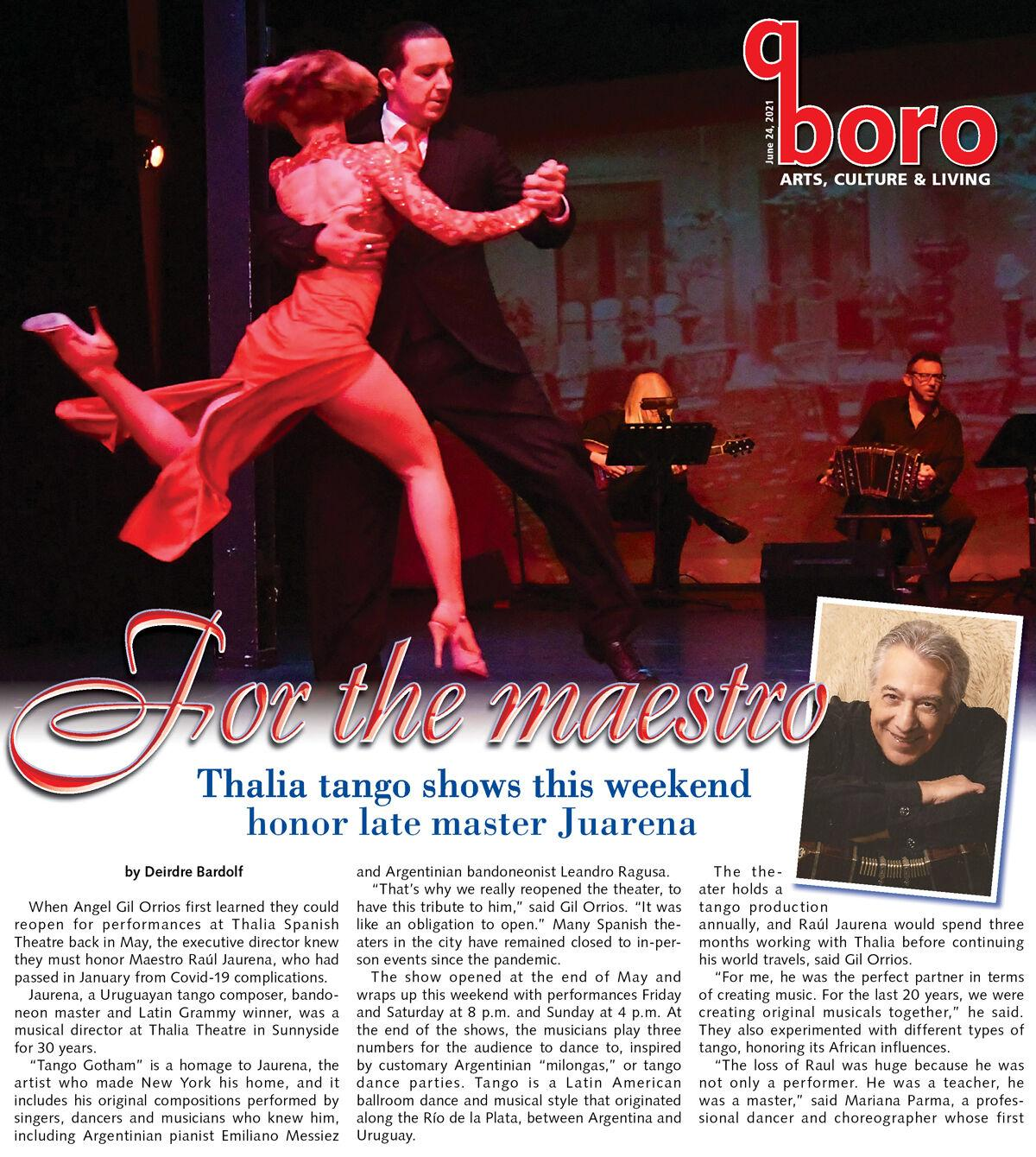 The passion of tango, in a powerful homage 1