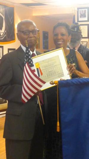 World War II veteran honored 2