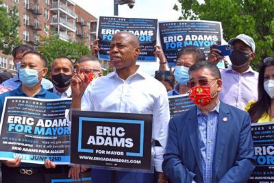 Adams promises small biz support 1