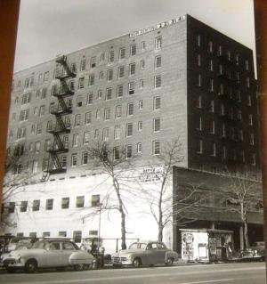 <p>The apartments at 87-50 Kingston Place, as seen from Hillside Avenue on March 1, 1955.</p>
