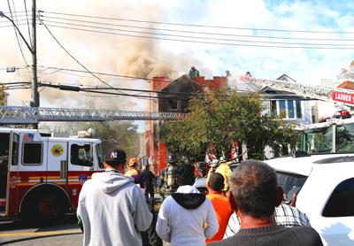 Three-alarm fire in Richmond Hill house 1