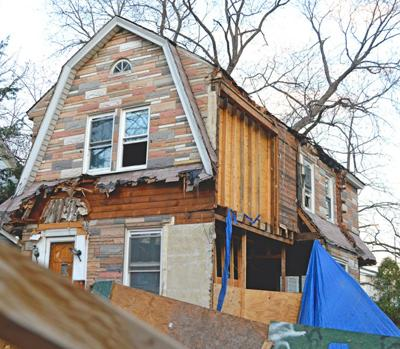 Work at house in Flushing halted 1