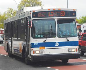Q52 bus to go one more mile east 1