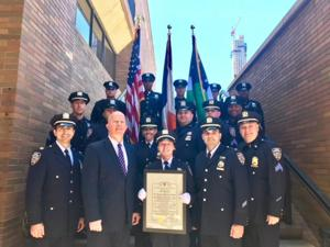 High honors for 102nd Pct. 1