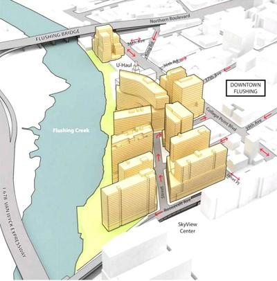 Flushing waterfront under public review 1