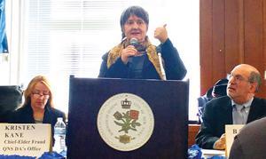 Experts talk elder abuse in Queens 1