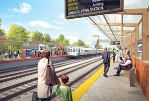 Arena critics get a new LIRR station 1