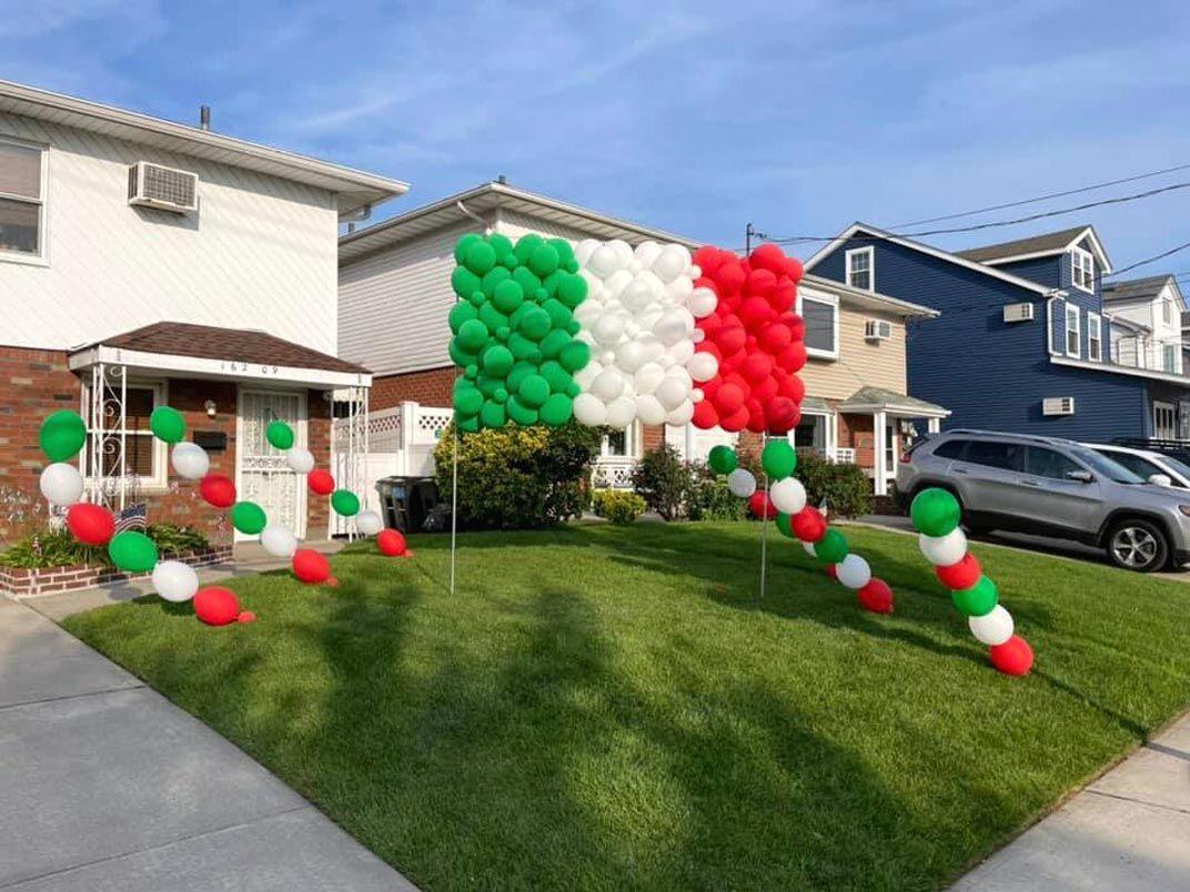 HB celebrates Italy's win 2