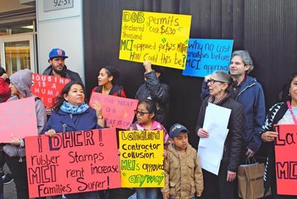 Renters rally for a change in MCI law 1