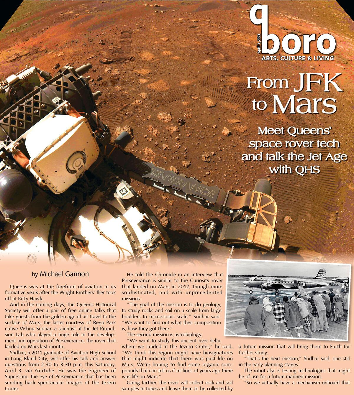 From the dawn of the jet age to the Martian frontier 1