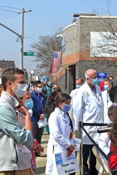 Doctors celebrated in Elmhurst 1