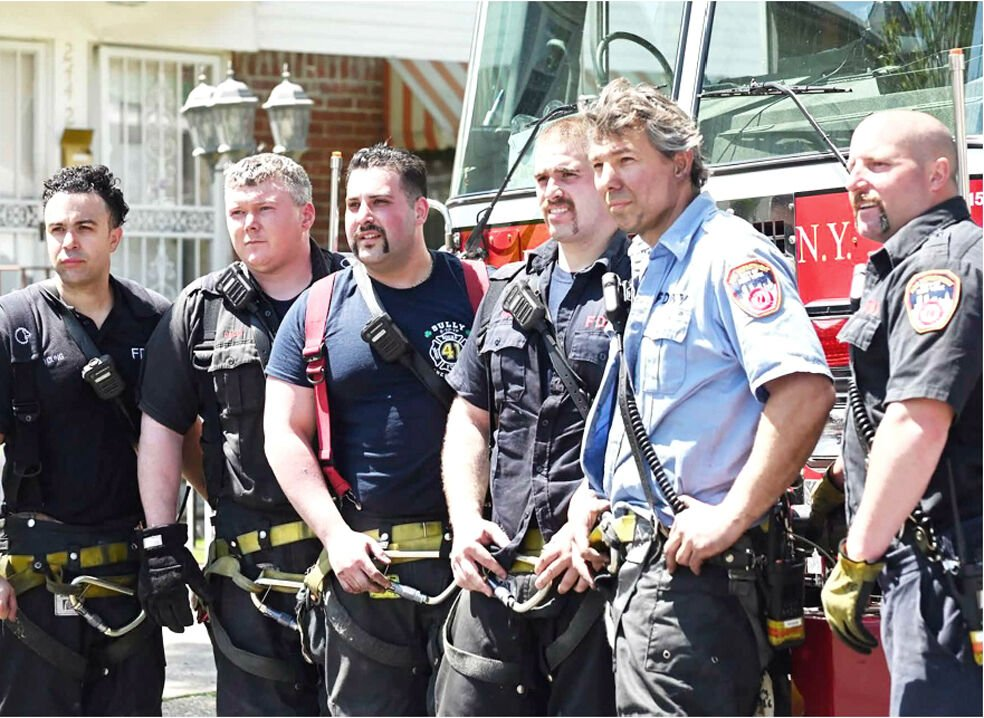 Heroism is all in a day's work for FDNY 1