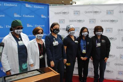 Queens World Film Festival honors Elmhurst medical heroes