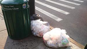A lot of trash talk at Woodhaven civic 1