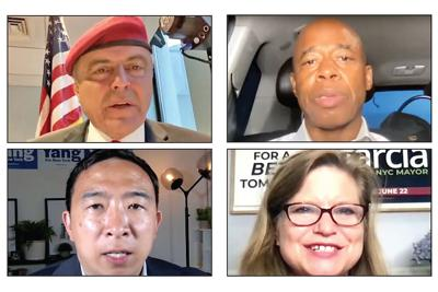 Mayoral forum puts four in the hot seat 1