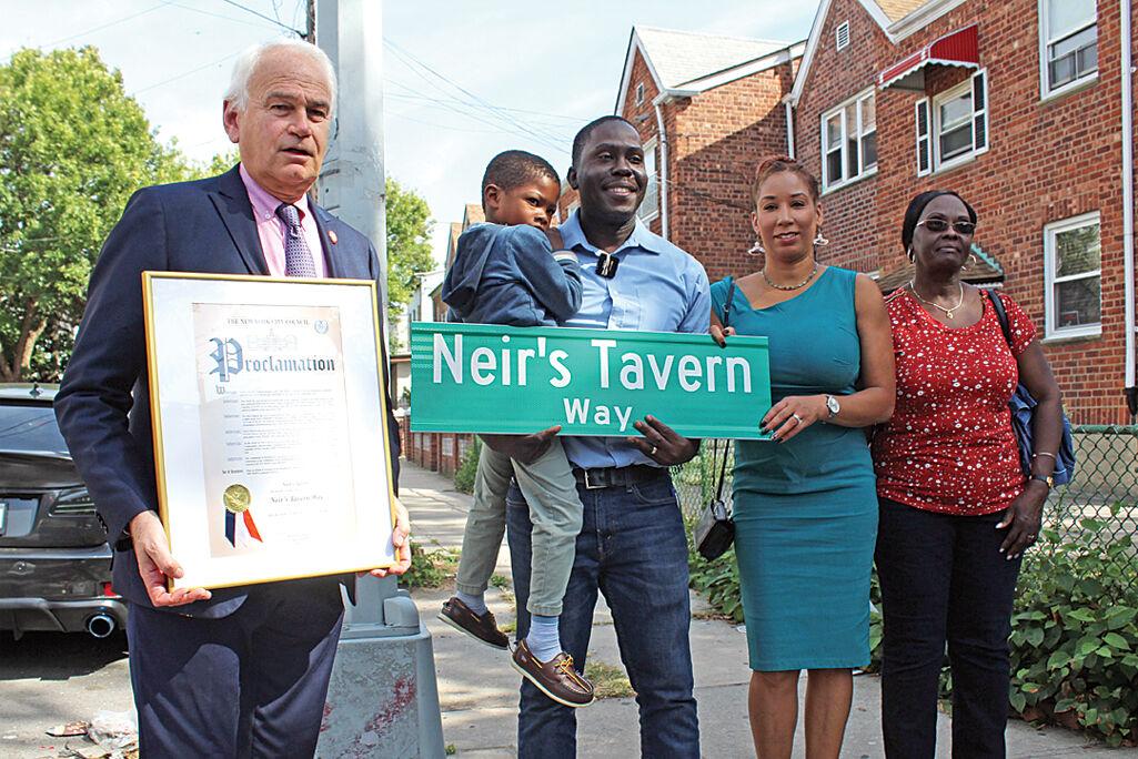 Street co-naming honors historic bar 1