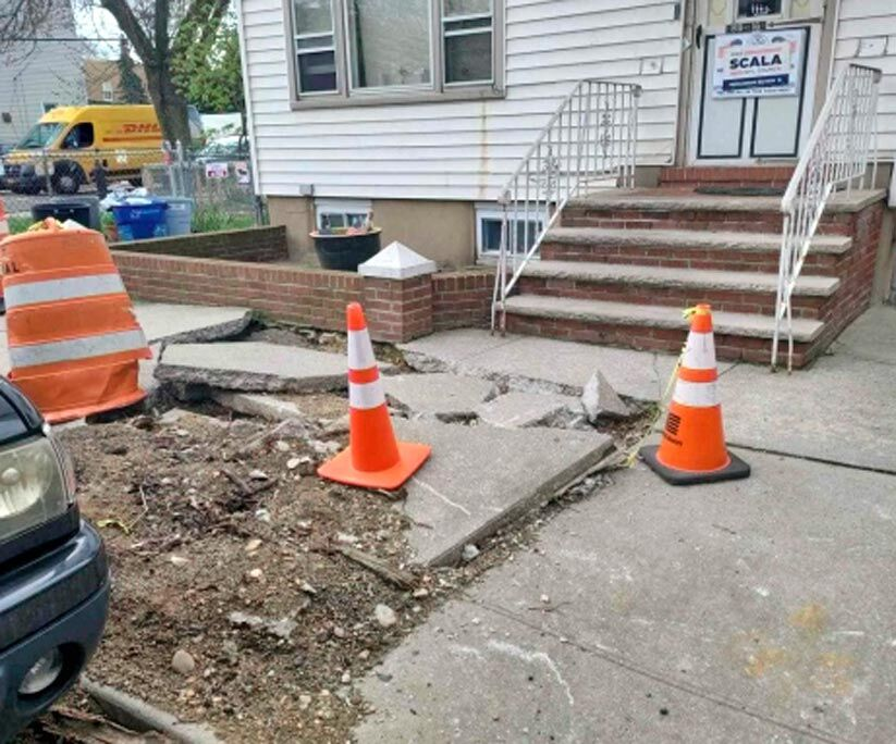 Isaias damage persists on Ozone Park streets 1
