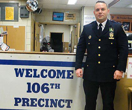 New commander named at 106 Pct. 1