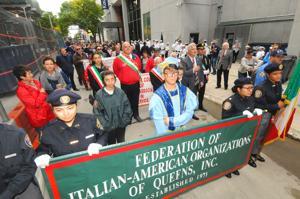 Celebrating Columbus Day in Queens 1