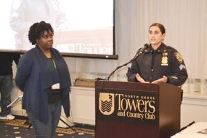 Halting elderly abuse in the 105th Precinct 1
