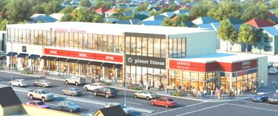 Shopping strip for Cross Bay 1