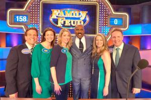 queens natives win on family feud queens chronicle queenswide