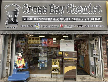 Cross Bay Chemist FRONT