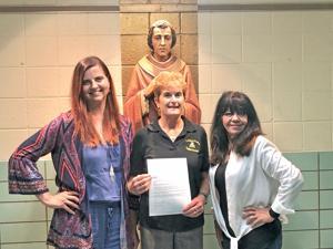 School gets diocese award 1