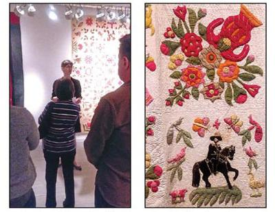 Blanket statement: a spotlight on quilting in LIC 1