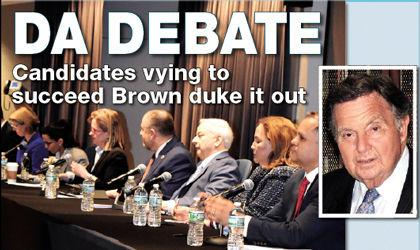 DA candidates spar at CUNY Law forum 1 - Queens Chronicle