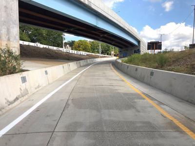 New ramps open on  massive interchange 1