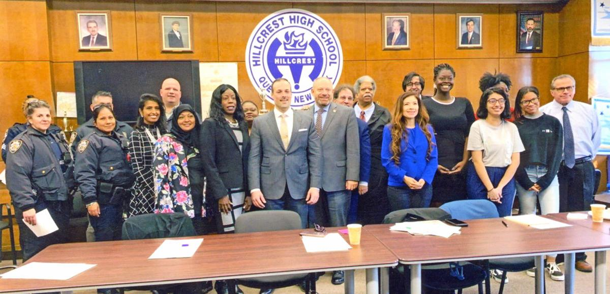 New Hillcrest High School principal meets the community 1